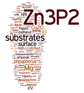 Abridged Thesis Zn3P2 and Cu2O (GMKimball)