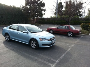 car 1 and car 2